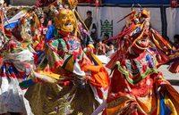 Phyang Tsedup Festival Leh Ladakh India