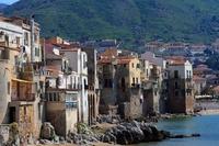 Huisjes Cefalú Italië