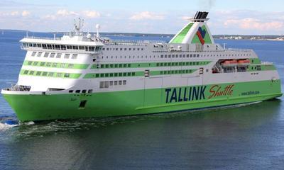 Ferry Tallin naar Helsinki