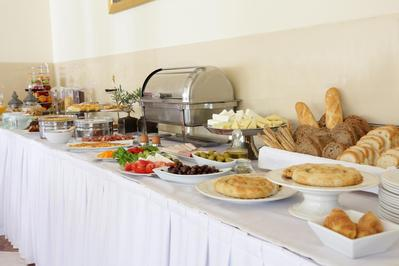 Chloe Luxury Hotel ontbijt Kastoria Griekenland