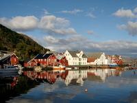 de kleine Lofoten Noorwegen