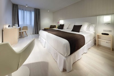 Hotelkamer Bilbao