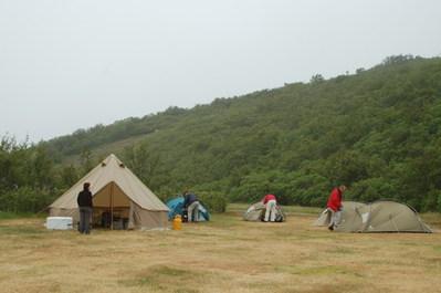 Koken kamperen IJsland