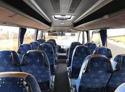 Bus groot binnenkant Armenie