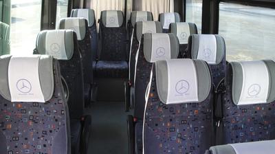 Bus klein binnenkant Armenie