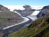 Skaftafell gletsjer IJsland
