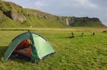 Tent camping IJsland