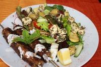 Souvlaki eten Griekenland