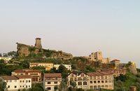 Kruja fort Albanië