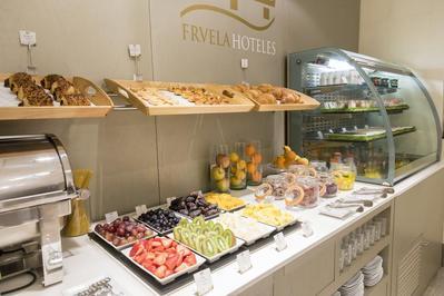 Hotel Fruela ontbijt Oviedo