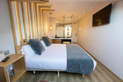 Hotel Fruela kamer Oviedo