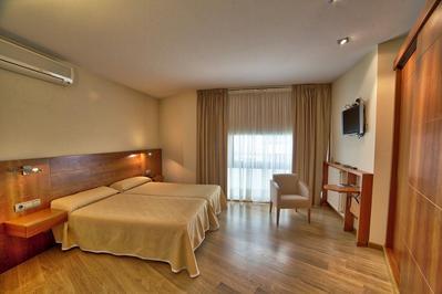 Hotel Rosa Rosae kamer Santiago de Compastella