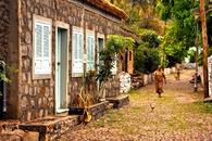 Straat Santiago Kaapverdië