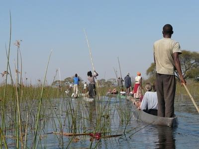 Boottocht Okavangodelta Botswana Djoser