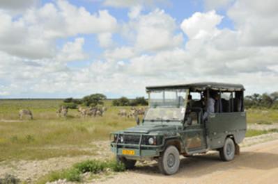 Jeepsafari Etosha NP Namibië Djoser