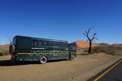 Truck Sossusvlei Namibië Djoser