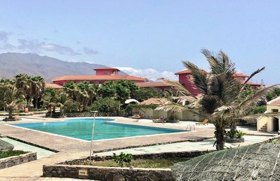 Hotel Porto Grande zwembad 2 Sao Vicente Kaapverdie