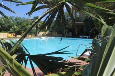 Hotel Xaguate zwembad Fogo Kaapverdie