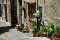 Straat Cagliari Sardinië