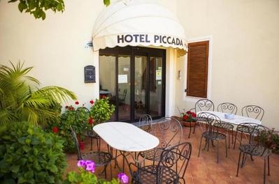 Hotel Piccada entree Palau Sardinie