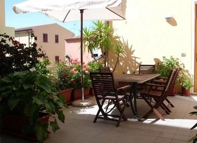 Hotel Piccada terras Palau Sardinie