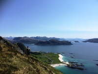 Wandelen Hornelen Noorwegen