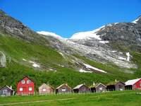 Glenndalsgletsjer Noorwegen