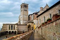 Kerk Perugia Italië