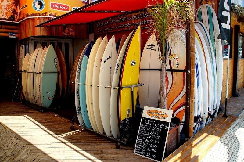 Surfen op Lanzarote
