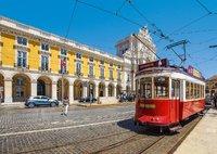 Alfama wijk Lissabon Portugal
