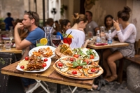 Terras eten Italië