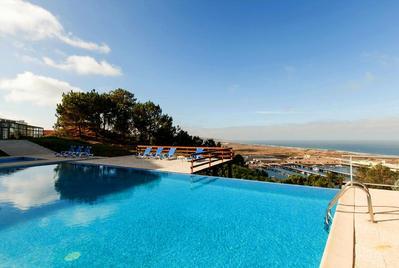 Hotel Miramar Sul zwembad Nazare Portugal