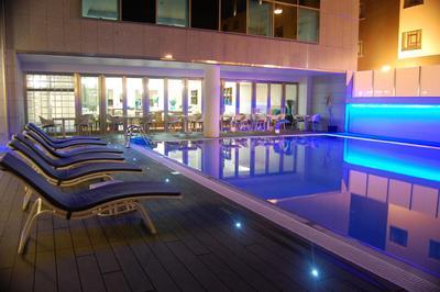 Hotel Dona Ines zwembad Coimbra Portugal