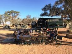 Safaritruck in Namibie