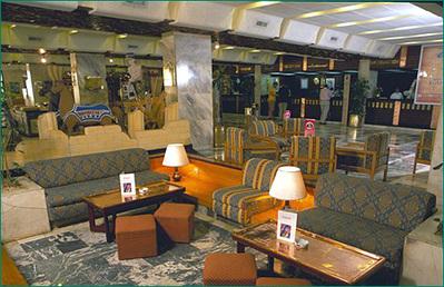 Egypte lobby hotel Djoser