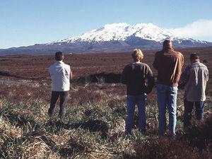 Taupo - wandeling in Tongariro NP