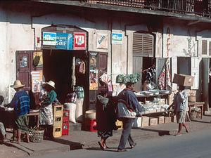 Ambositra - dorpsgezicht