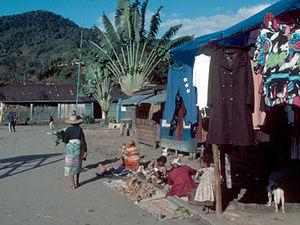 Ranomafana – dorpsgezicht