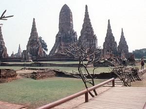 Ayutthaya - ruïne van tempel