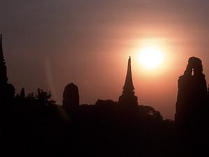 Ayutthaya - by night