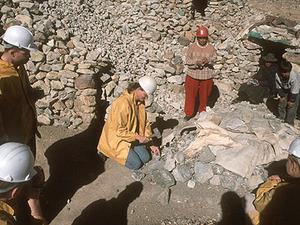 Potosi - bezoek aan de zilvermijnen.