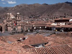 Cusco - stadsgezicht