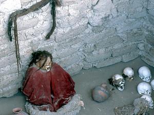 Nasca- Chauchilla begraafplaats