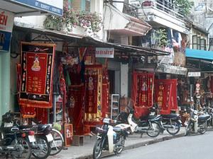 Hanoi – straatbeeld oude wijk