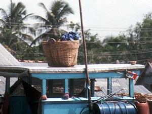 Mekong delta - drijvende markt