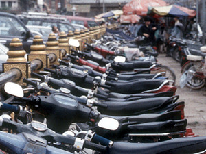 Phnom Penh - brommers