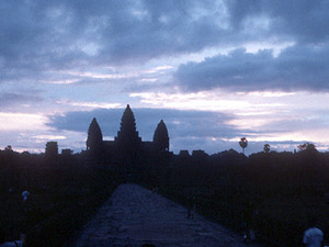 Angkor Wat - zonsondergang