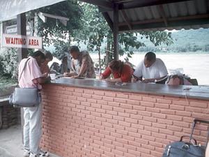 Chiang Khong - grens