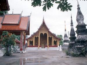 Luang Phabang - tempel