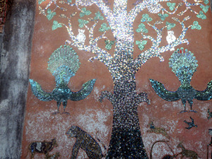 Luang Phabang - mozaiek